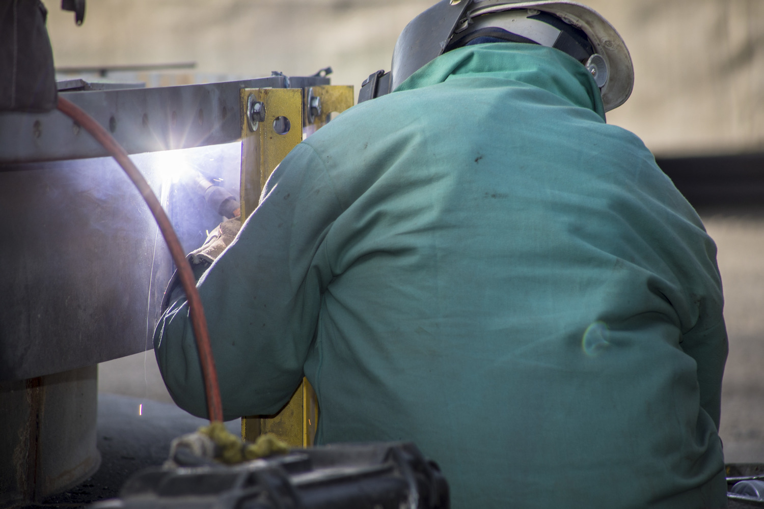 Sundt's Industrial Group self-performed much of the work on site with its own skilled craft workforce. Specialized trades included precision millwrighting, boiler-making, structural ironworking, piping, concrete and electrical.