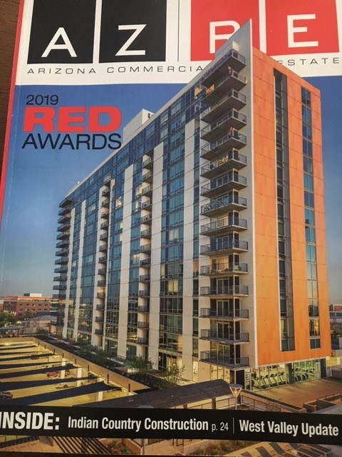 Among several other award-winning projects, Union Tempe was selected as the cover for AZRE Magazine's latest issue.
