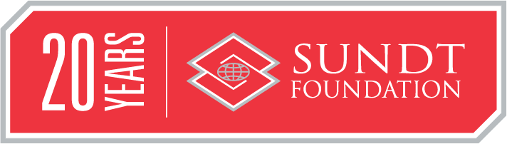 Sundt Foundation 20 Years of Giving Logo