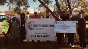 sundt foundation presents a check to compassion
