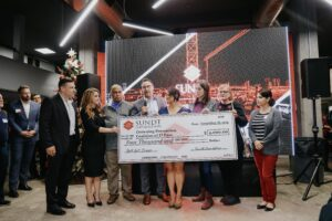 Drowning Prevention coalition of el paso accepts check from sundt foundation