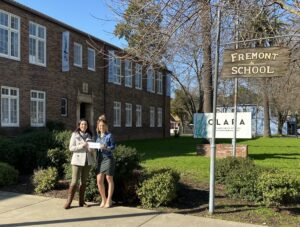 check presentation outside of the clara school for performing arts