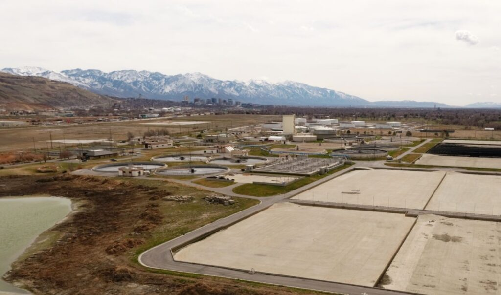 the Salt Lake City Water Reclamation Facility that Sundt and PCL will demolish and rebuild to modern sustainability standards